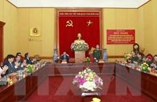 Báo chí động viên lực lượng Công an hoàn thành xuất sắc nhiệm vụ