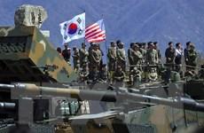 Ông Trump phủ nhận nêu vấn đề tập trận tại thượng đỉnh Mỹ-Triều lần 2