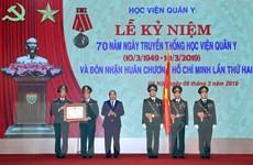 'Học viện Quân y phải sớm đạt tiêu chí trường trọng điểm quốc gia'