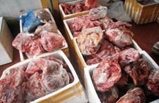 Lâm Đồng: Thu giữ để tiêu hủy lượng lớn thịt lợn không rõ nguồn gốc