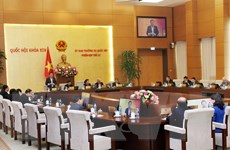 Thông qua Nghị quyết về sắp xếp các đơn vị hành chính cấp huyện, xã