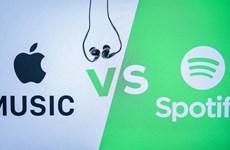 Spotify kiện Apple độc quyền trên thị trường nhạc trực tuyến