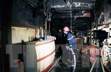 Cháy khách sạn ở trung tâm Hải Phòng, một người tử vong