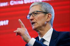 Giám đốc điều hành Apple Tim Cook hối thúc Trung Quốc tiếp tục mở cửa