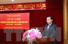 Công tác Đảng ngoài nước đóng góp vào sự nghiệp xây dựng Tổ quốc