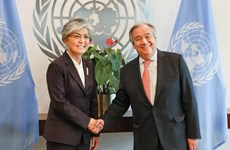 Liên hợp quốc và ASEAN ủng hộ tiến trình phi hạt nhân hóa Triều Tiên