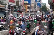 Tắc đường kéo dài ở cửa ngõ phía Đông Thành phố Hồ Chí Minh