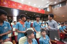 PTT Vũ Đức Đam: Tập trung phát triển bóng đá trẻ chuyên nghiệp