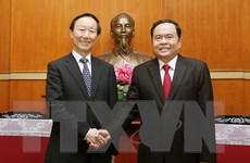 Góp phần vun đắp quan hệ hữu nghị nhân dân Việt Nam-Trung Quốc
