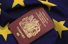 Vấn đề Brexit: EP ủng hộ miễn trừ thị thực cho công dân Anh