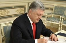 Tổng thống Poroshenko ký sắc lệnh chương trình hợp tác Ukraine-NATO