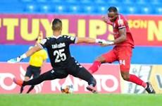 Thắng B.Bình Dương, Thành phố Hồ Chí Minh tạm dẫn đầu V-League