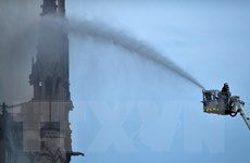 Vụ cháy Nhà thờ Đức Bà: Nhận định về yếu tố tiếp sức cho 'hỏa thần'