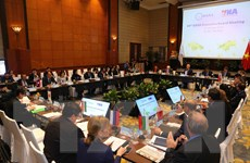 [Photo] Toàn cảnh cuộc họp Ban điều hành hội nghị OANA 44