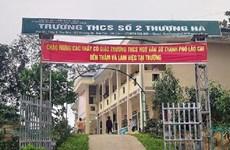 Tạm đình chỉ thầy giáo bị tố có hành vi xâm hại học sinh ở Lào Cai
