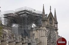 Nước Pháp chạy đua với thời gian để che chắn Nhà thờ Đức Bà Paris