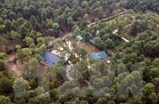Bắt đầu cưỡng chế vi phạm trật tự xây dựng trên rừng Sóc Sơn