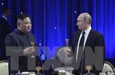 Ông Putin và Kim Jong-un kết thúc hội nghị thượng đỉnh