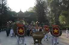 Lãnh đạo TP Hồ Chí Minh dâng hương tưởng niệm các anh hùng liệt sỹ