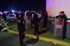 Khoảng 1.300 người di cư bỏ trốn khỏi trại giam ở miền Nam Mexico