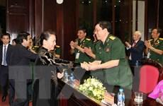 """Chủ tịch Quốc hội dự chương trình giao lưu """"Tri ân đồng đội"""""""