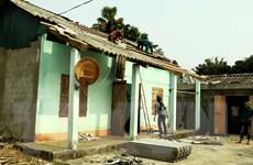 Tuyên Quang: Dông lốc kèm mưa đá làm 109 nhà dân bị tốc mái