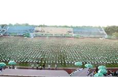 Hơn 6.000 học sinh tiểu học tham gia đồng diễn thể dục xác lập kỷ lục