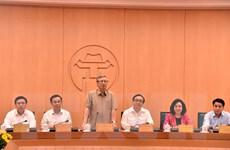 Tiểu ban Văn kiện ĐH Đảng làm việc với Ban Thường vụ Thành ủy Hà Nội