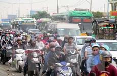 Các cửa ngõ Thành phố Hồ Chí Minh ùn tắc nghiêm trọng