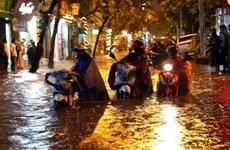 Từ đêm 2-4/5, các tỉnh Bắc Bộ và Bắc Trung Bộ có mưa dông diện rộng