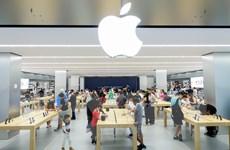 Apple trở lại mốc giá trị thị trường 1.000 tỷ USD, vẫn ở sau Microsoft