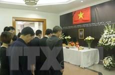 Lễ viếng Đại tướng Lê Đức Anh tại Indonesia và Australia