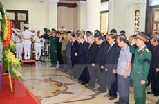 Hình ảnh Lễ viếng nguyên Chủ tịch nước Lê Đức Anh tại Thừa Thiên-Huế