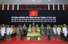 Cử hành trọng thể Lễ truy điệu nguyên Chủ tịch nước Lê Đức Anh