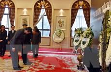 Lễ viếng và mở sổ tang nguyên Chủ tịch nước Lê Đức Anh ở các nước