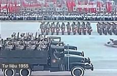 [Video] Lễ duyệt binh đầu tiên sau chiến thắng Điện Biên Phủ