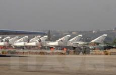 Căn cứ không quân của Nga ở Syria bị tấn công bằng rocket