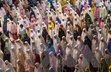 Hình ảnh gần 2 tỷ người Hồi giáo bắt đầu Tháng lễ Ramadan