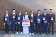 8 thí sinh Việt Nam dự Olympic Vật lý châu Á 20 đều đoạt giải