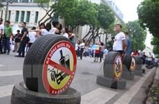 Hình ảnh lễ phát động kêu gọi hành động đã uống rượu bia-không lái xe