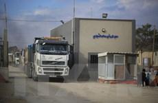 Israel dỡ bỏ lệnh cấm, mở lại các cửa khẩu tại Dải Gaza