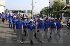 Gần 3.000 người tham gia ngày hội công nhân ở Thành phố Hồ Chí Minh