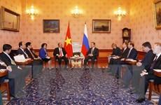 Thủ tướng thăm Nga: Coi trọng Đối tác chiến lược toàn diện Việt-Nga
