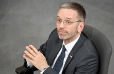 Thủ tướng Áo yêu cầu sa thải Bộ trưởng Nội vụ Herbert Kickl