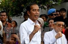 Lãnh đạo Việt Nam điện mừng Tổng thống, Phó Tổng thống Indonesia