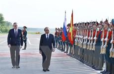 Hình ảnh Thủ tướng kết thúc chuyến thăm chính thức Liên bang Nga