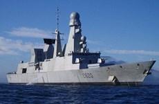 Tàu hộ tống phòng không Forbin của Pháp thăm hữu nghị TP.HCM