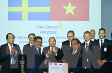 Thủ tướng thăm tập đoàn dược phẩm hàng đầu Thụy Điển AstraZeneca