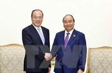 Thủ tướng Nguyễn Xuân Phúc tiếp Tỉnh trưởng Vân Nam của Trung Quốc