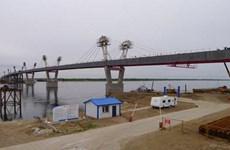 Hợp long đoạn cầu cao tốc xuyên biên giới Trung Quốc-Nga